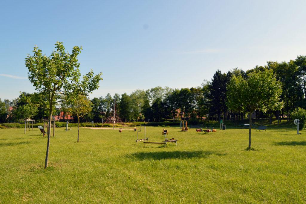 Plaine de Salouël - Jeux pour enfants