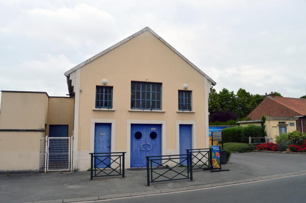 Façade de la salle Jean Jaurès