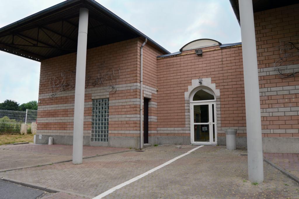 Photographie de la façade de la salle des évents
