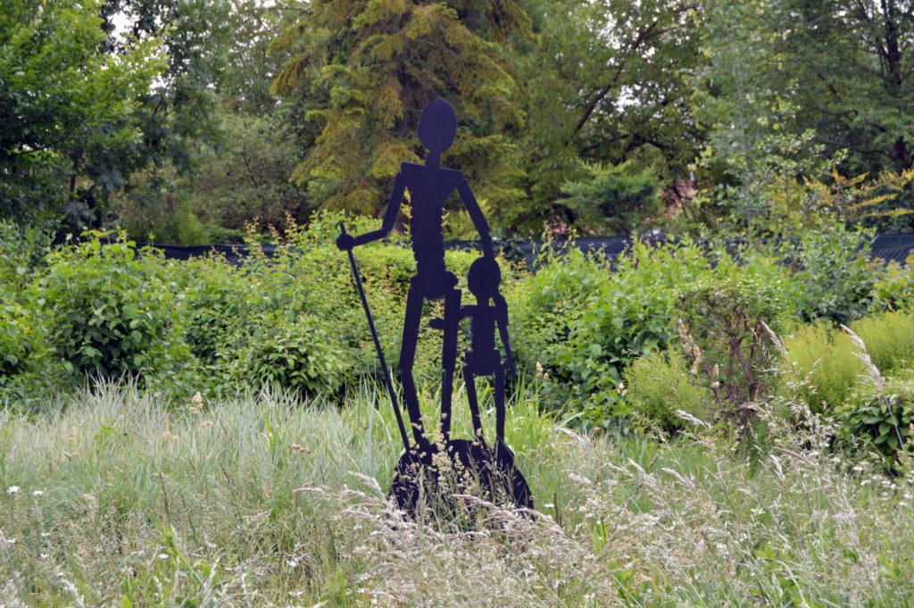 Oeuvre offerte par Amiens métropole Art à la commune de Salouel