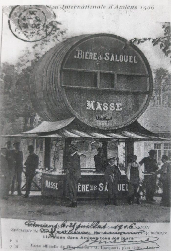 Tonneau de bière fait à Salouël