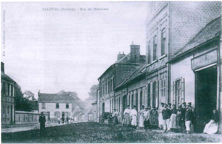 Blanchisserie de Salouël apparatenant à la famille Leblanc